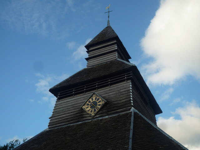St. Mary's Church (Close-up of the Bell Tower | Pembridge)