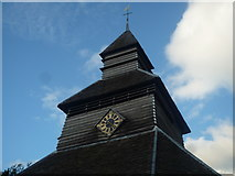 SO3958 : St. Mary's Church (Close-up of the Bell Tower | Pembridge) by Fabian Musto