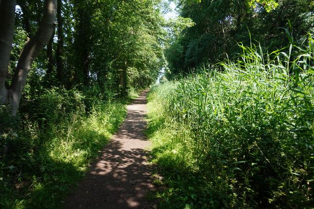 Wilberforce Way towards Giles Lock