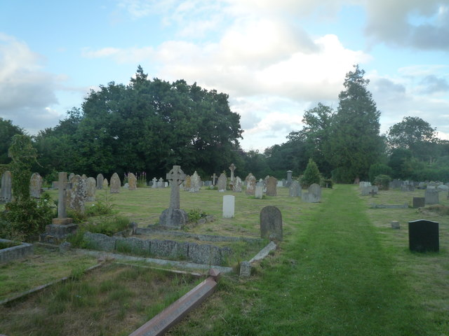 Churchyard at St. Mary's Church (Pembridge)