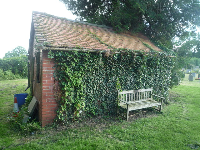 Shed at St. Mary's Church (Pembridge)
