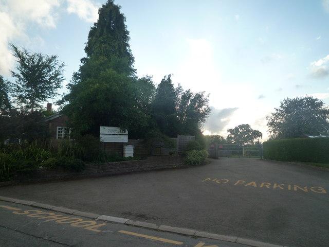 Entrance to Pembridge Primary School