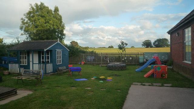 Playground at Pembridge Village Hall