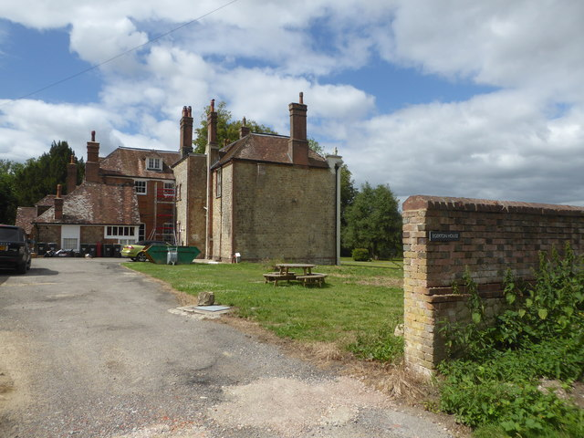 Egerton House, viewed from the Greensand Way
