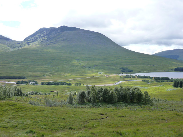 Glen Tulla from the Achallader viewpoint