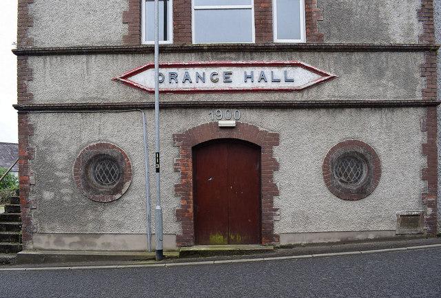 Front entrance, Newtownstewart Orange Hall