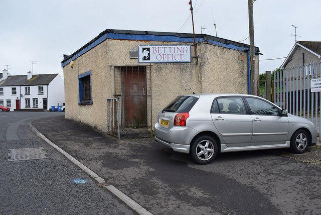 Betting office, Newtownstewart
