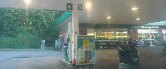 Morrisons Filling Station (Leominster)