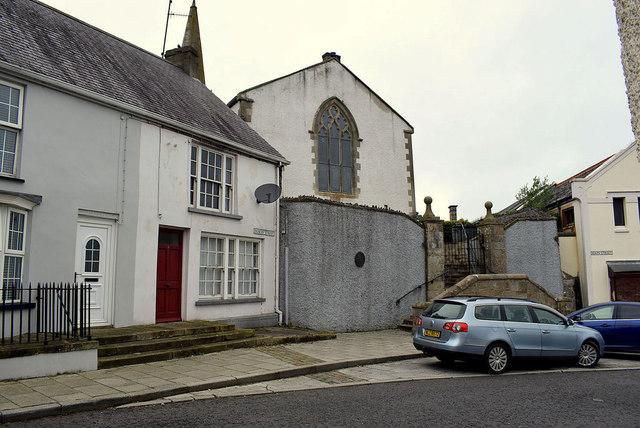 The north end of Dublin Street, Newtownstewart