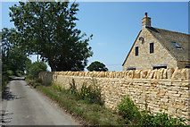 SP3114 : New Stone Wall, Purrants Lane by Des Blenkinsopp