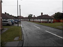 NZ2567 : Davidson Cottages, Gosforth, Newcastle upon Tyne by Graham Robson