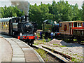 SO6302 : Trains at Lydney Junction Station by Chris Allen