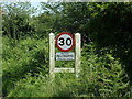TG1617 : Felthorpe Village Name sign on The Street by Adrian Cable