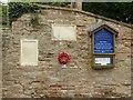 SK6548 : Epperstone War Memorials by Alan Murray-Rust