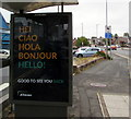 ST3090 : JCDecaux - Good To See You Back, Malpas Road, Newport by Jaggery