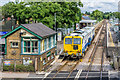 TQ2550 : Reigate Signal Box and Station by Ian Capper