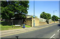 SE1533 : Cycle path from Westgate beside Auto Locksmiths premises by Roger Templeman