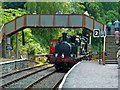 SO6107 : Parkend Station - light engine movement by Chris Allen