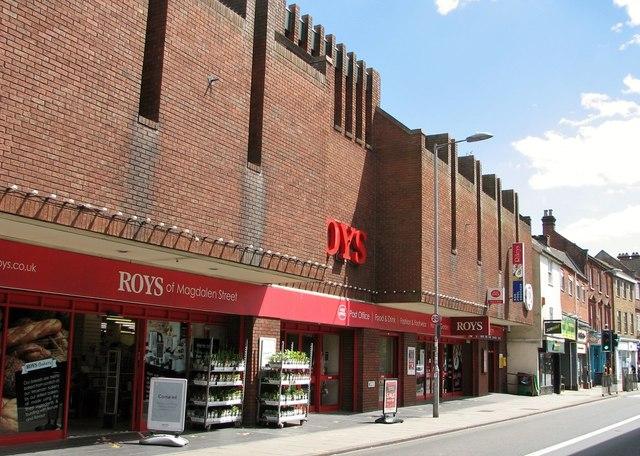 77-87 Magdalen Street - Roys