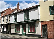 TG2309 : 135 Magdalen Street - Jacquard Club (former) by Evelyn Simak