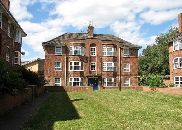 Block of council flats at Magdalen Close