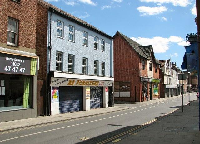 129 Magdalen Street - RS Furniture shop