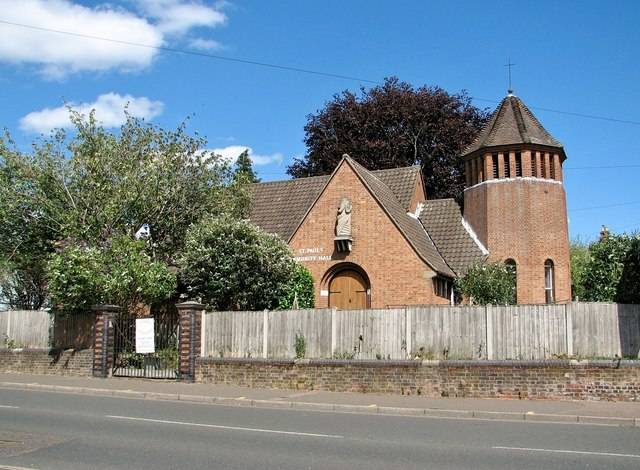St Paul's Mission Hall (former)