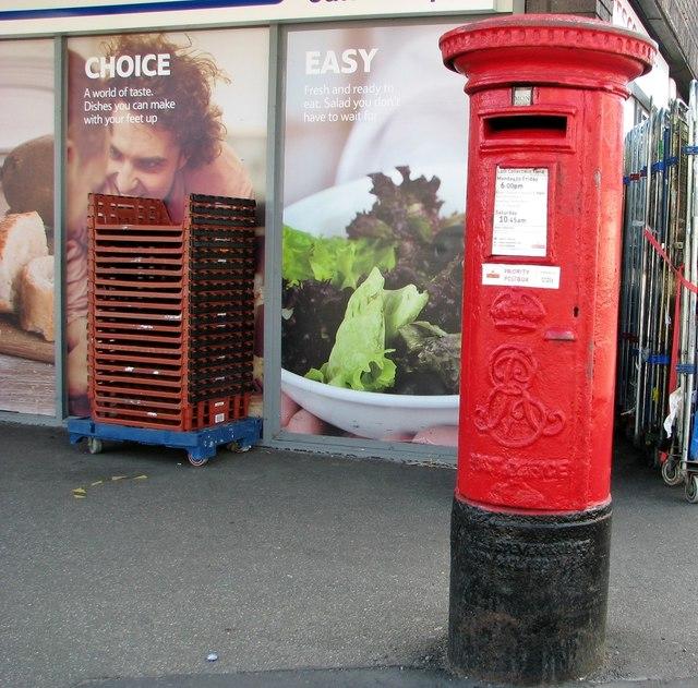 Edward VII pillarbox