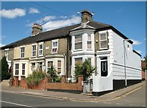 TG2309 : Terrace on Magdalen Road by Evelyn Simak
