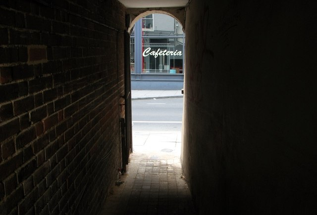 Passage linking Zipfels Court and Magdalen Street