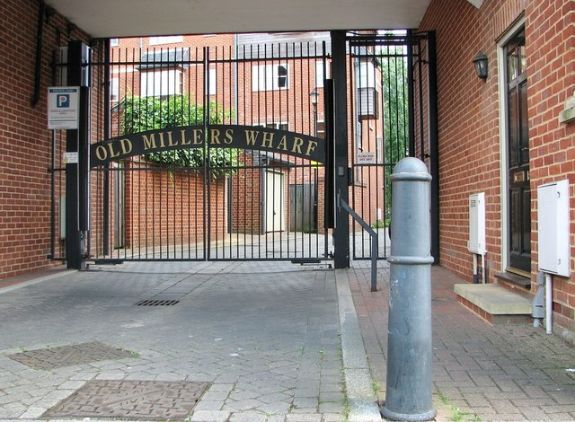 Entrance to Old Millers Wharf