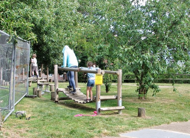 Children's play area at the Oasis