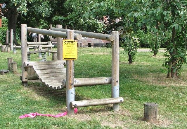 Closed children's play area