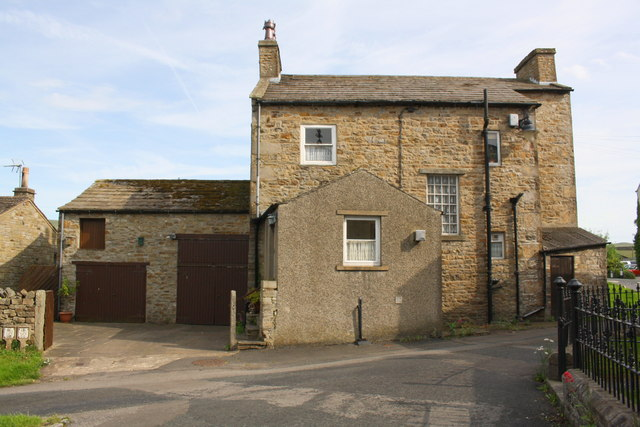 House in Aysgarth near site of T. Ray's stable