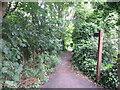 NZ2975 : Public Footpath, Seaton Delaval by Geoff Holland