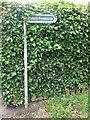 NZ2975 : Sign Near Seaton Delaval by Geoff Holland