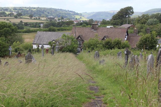 Churchyard of St Sannan's, Bedwellty