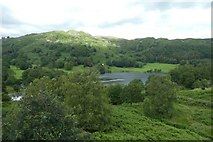 NY3404 : Loughrigg Tarn from Neaum Crag by DS Pugh