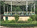 SK3899 : The bandstand in Elsecar Park by Dave Pickersgill