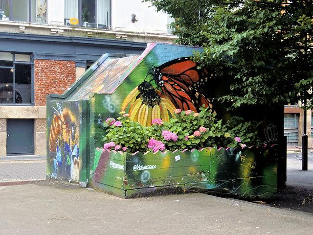 Street Art on the Tib Street Substation