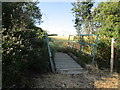 TL0372 : Bridge on the bridleway to Keyston by Jonathan Thacker