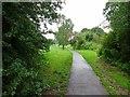 SO9194 : Rainy Park Path by Gordon Griffiths