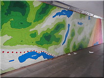 NS5574 : New artwork at Gavin's Mill Underpass (4) by Richard Sutcliffe