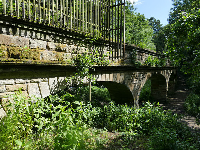 North face of Seven Arches aqueduct