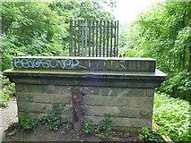 SE2839 : West end of Seven Arches aqueduct by Stephen Craven