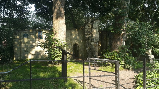 Ruins of St Mary's Chapel, Jesmond, Newcastle upon Tyne
