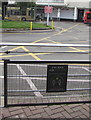 ST2995 : Stay Back and Stay Safe in Cwmbran bus station by Jaggery