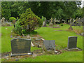 SE2639 : Lawnswood cemetery: bilingual memorial by Stephen Craven