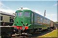 SU5290 : Didcot Railway Centre - locomotive No. 18000 by Chris Allen