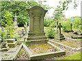 SE2639 : Lawnswood cemetery: John Thackeray's memorial by Stephen Craven